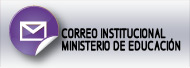 Correo institucional Ministerio de Educación