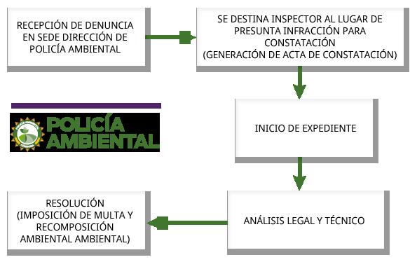 CIRCUITO ADMINISTRATIVO DENUNCIAS DIRECCIÓN DE POLICÍA AMBIENTAL