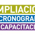 Ampliación del Cronograma de Capacitación