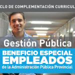 Beneficios para agentes públicos: Licenciatura en Gestión Pública en la UCC