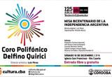 Misa del Bicentenario por el Coro de Río Cuarto