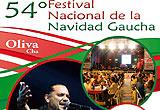 Presentación de la 54ª Navidad Gaucha de Oliva
