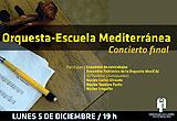 Concierto de fin de año Orquesta Escuela Mediterránea