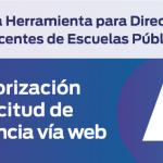 Nueva Herramienta Digital para Licencias de docentes de escuelas públicas