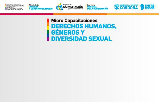 Capacitaciones en derechos humanos, géneros y diversidad sexual