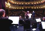 Pabo Jaurena dirige la Orquesta de Tango