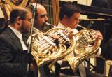 La Orquesta sinfónica con director invitado