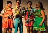 Teatro clown: Payasos malvivientes, ladrones, delincuentes