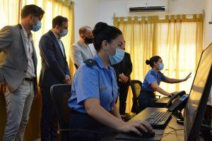 Quedó inaugurado el Centro de Control de Persona bajo Vigilancia – La Radio 102.9