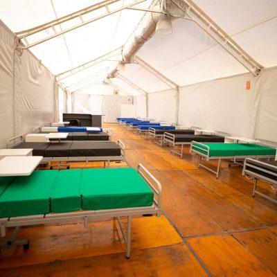 Hospital Rawson: camas de internación para pacientes con coronavirus