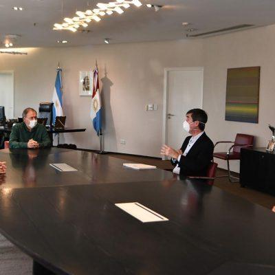 Reunión con la UIC y la Cámara de Comercio Exterior de Cba