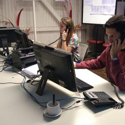 Call Center en el COE Villa María