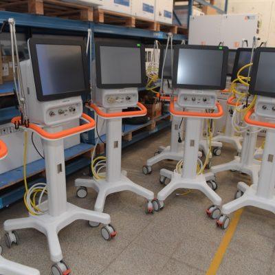 Respiradores para el Hospital San Roque